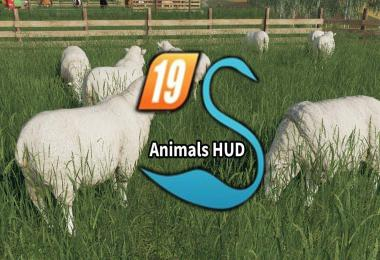 AnimalHud for Sesons Mod v3.5