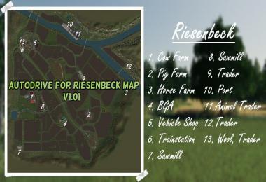 AUTODRIVE FOR RIESENBECK MAP v1.01