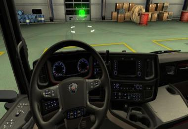 BLUE DASHBOARD FOR SCANIA S NEXT GEN 1.35