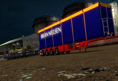 Brian Nielsen 4 axled Trailer for ETS2 1.34 & 1.35