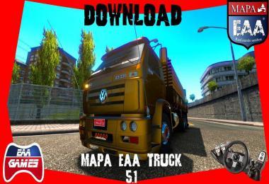 EAA Truck Map v5.1 1.35.x