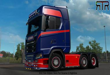 Eric Van Dijken Skin For Scania S v1.0