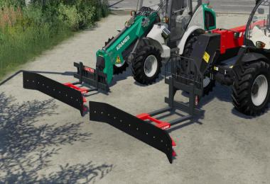 Fork Mount Rubber Scraper Pack v1.0.0.0
