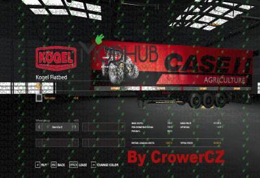 FS19 CASE IH KOGEL AUTOLOADER TRAILER v1.0