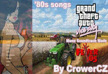 FS19 - GTA Vice City Music Soundtrack in menu v1.0