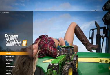 John Deere Girl Edition Menu Background v1.0