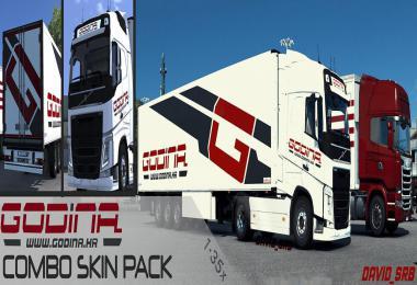Godina Combo Skin Pack v1.0