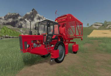 HARVESTER MTZ-80XM FOR COTTON Release v1.0