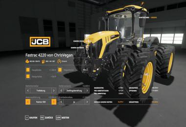 JCB Fastrac 600 including attachments v1.0.0.1