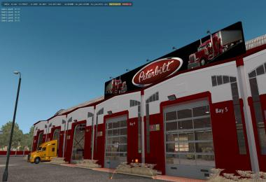 Large garage Peterbilt 1.35.x