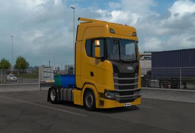 Low deck chassis addon for Eugene Scania Next Gen v1.1