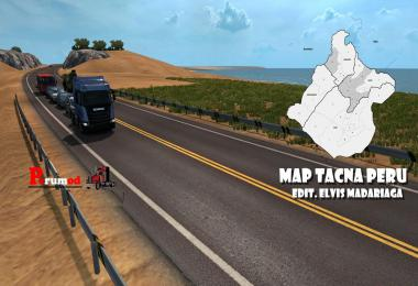 Map Puno Peru v1.9 DX11 ETS2 1.35.x