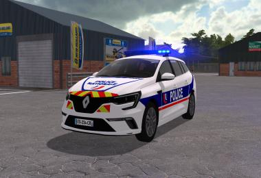 Megane Estate 4 version Police et Gendarmerie v1.0