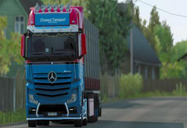 MP4 Skin Chnaoui Transport - ETS2  1.35