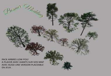 Pack Arbres low poly v1.0