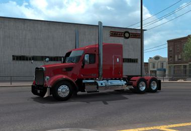 Peterbilt 567 wrecker and dump combo 1.35