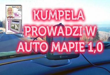 Polish voice KUMPELA PROWADZI W AUTO MAPIE v1.0