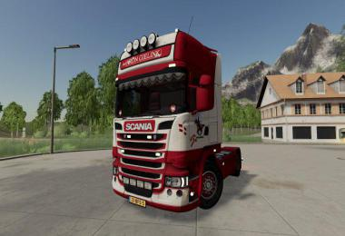 Scania R-Series Topline 4x2 Aron Gielink v1.0.0.0