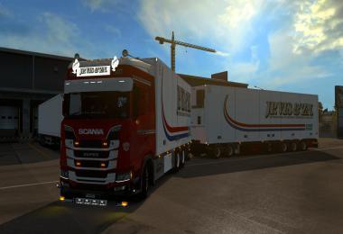 Scania S JP Vis & Zn Tandem skin 1.35