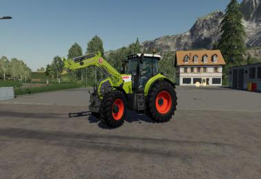 Stoll FZ 30 Claas green v1.0