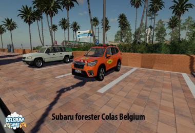 Subaru Forester Colas Belgium Skin v1.0