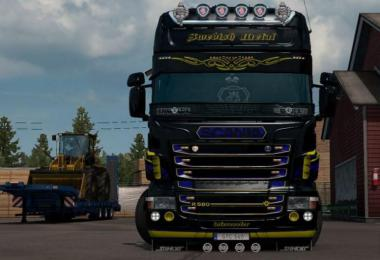Swedish Metal Skin for Scania RJL v1.0