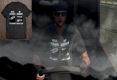 Truck Driver Skin – Funny T-Shirt v1.0