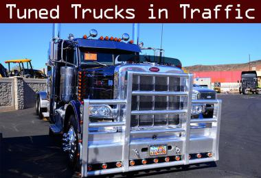 Tuned Truck Traffic Pack (ATS) by Trafficmaniac v1.0