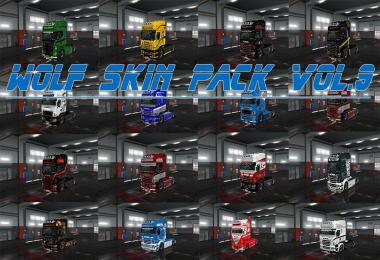 Wolf Skin Pack Vol.9 1.35.x