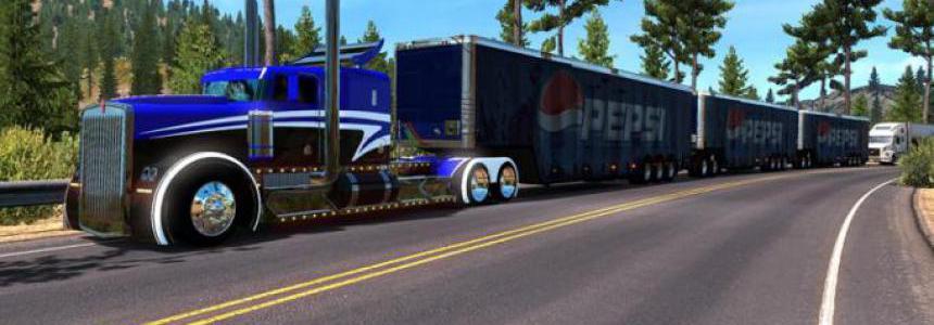 Tripe Trailer Pepsi Cola 1.35.x