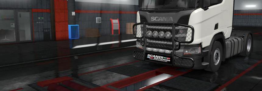 Bullbar with lightbox for Next gen Scania v1.2