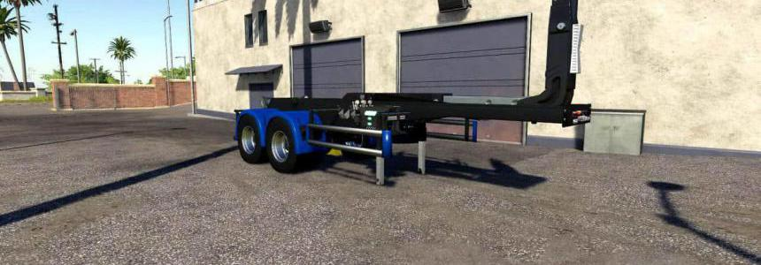 Cooklift Semi-Trailer mod v1.0