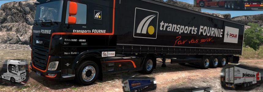 French Truck & Trailers Skins Krone v0.2 1.35.x