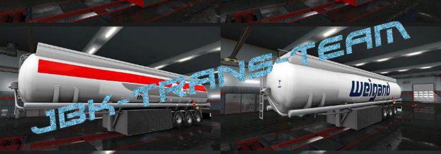 JBK 10 Fuel Citern Trailer v1.0