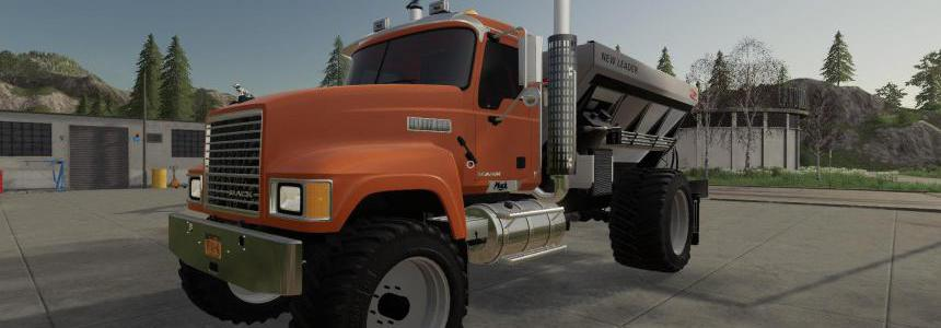 Mack Pinnacle Spreader Truck v1.0