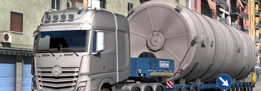 Mercedes Actros Open Pipe Next Stage 1.35.x