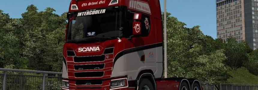 Old Girl Scania S 2016 Next Gen Skin v1.0