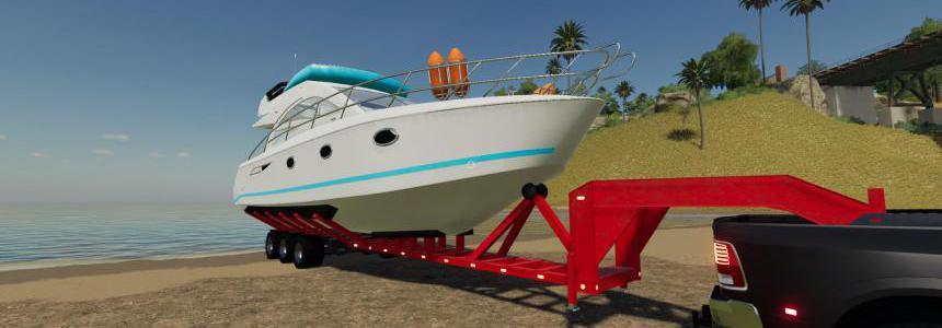 Oversize Boat Trailer v1.0