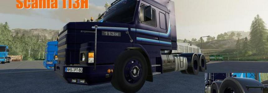 Scania 113H Tuning Fahrwerk v0.1.5.2
