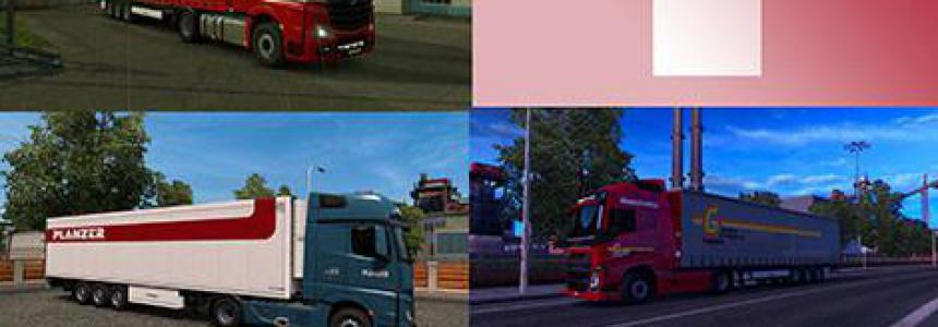 Swiss Trailer Pack for Krone DLC 1.35.x