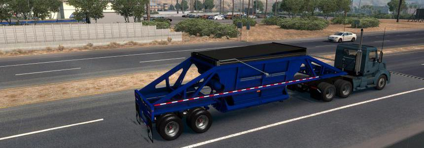 TRAILKING BELLY DUMP REWORKED FOR ATS 1.35