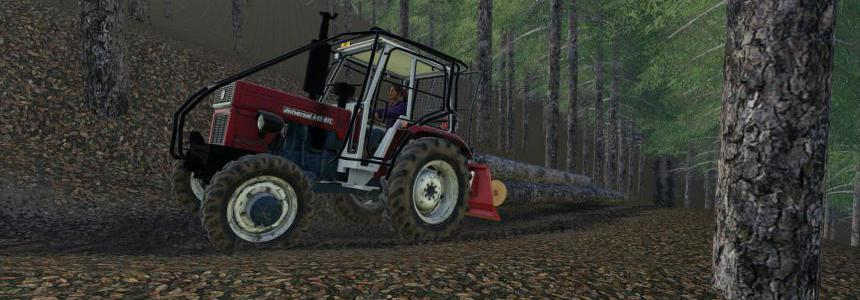 Universal 445 TURBO Forest v1.0