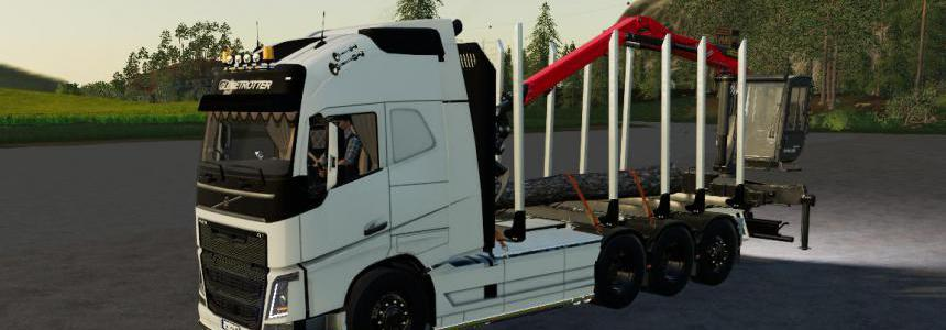 Volvo FH16 Forest Truck Fs19 v1.1.0