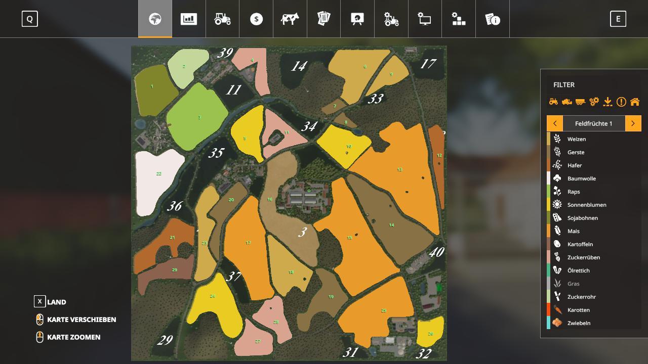 Losa im Vogtland Map v1.0 for FS19