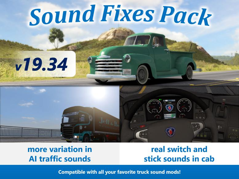 Sound Fixes Pack v19 34 1 35 - Modhub us