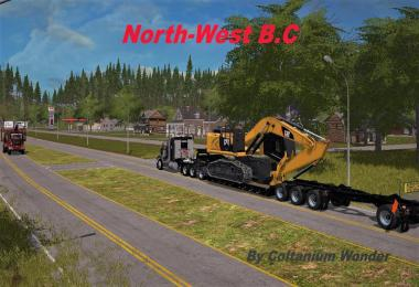 North West B.C. Logging Map v0.9.1
