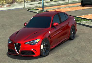 Alfa Romeo Giulia V1R11 ETS2 1.35.x