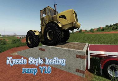 Aussie Style loading ramp v1.0