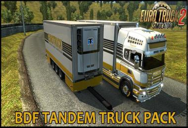BDF Tandem Truck Pack v107.0 1.35.x