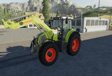 Claas front loader v2.5